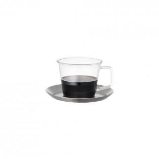 킨토 캐스트 커피컵&소서 220ml (스텐)