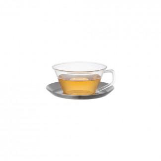 킨토 캐스트 티컵&소서 220ml (스텐)