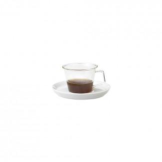 킨토 캐스트 에스프레소 컵&소서 90ml (도자기)
